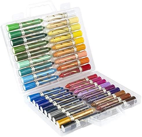 36 lápices de colores en cera, pintura de acuarela, soluble en agua  ultra suave, untuoso y altamente pigmentado usar seco y mojado