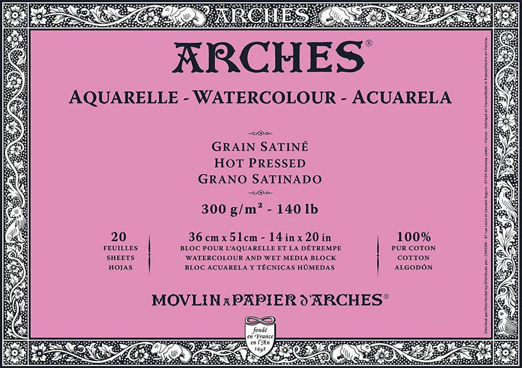 Arches grano satinado 300g